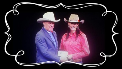 Steffanie Mather 2014 Canadian Barrel Racing Champion