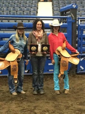 Colby Gilbert and Hallie Anderson with their Mom, Andrea Udal