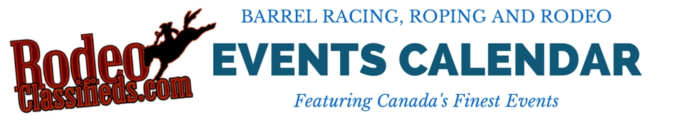 Barrel Racing, Roping and Rodeo Listings