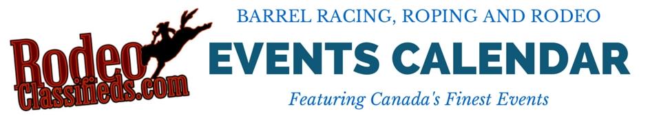 Barrel Racing, Roping and Rodeo Listings