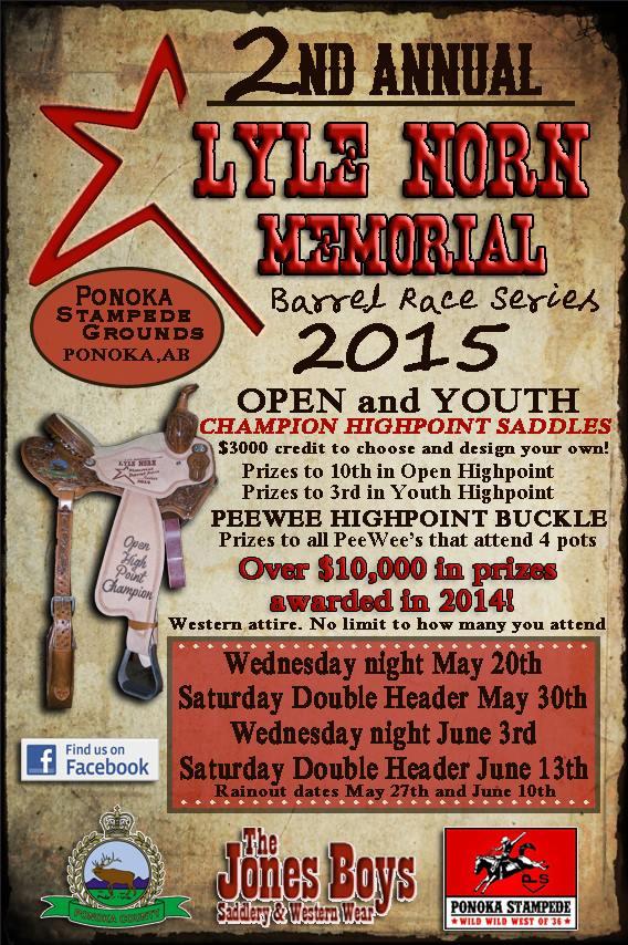 2nd Annual Lyle Norn Memorial Series @ Ponoka Stampede Grounds | Ponoka | Alberta | Canada