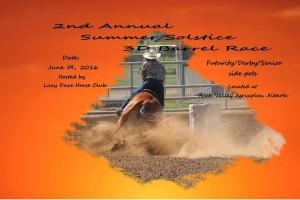 Summer Solstice 3D Barrel Jackpot @ Rich Valley Agriplex   Rich Valley   Alberta   Canada
