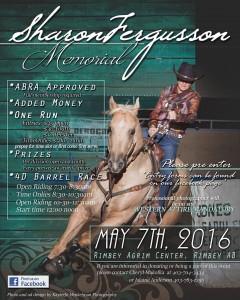 Sharon Fergusson Memorial Barrel Race @ Rimbey Agrim Arena  | Rimbey | Alberta | Canada