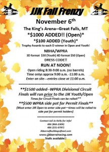 JJK Fall Frenzy @ The King's Arena | Great Falls | Montana | United States