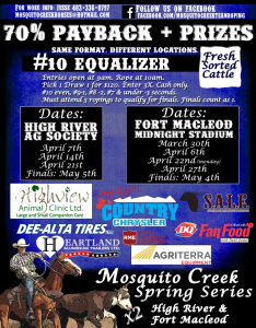 Mosquito Creek Team Roping Spring Series @ Mosquito Creek Team Roping Spring Series